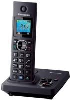 Panasonic PA-KX-TG7861 Cordless Landline Phone(Black)