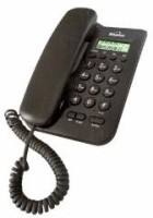View Binatone Spirit 200 Corded Landline Phone(Black) Home Appliances Price Online(Binatone)