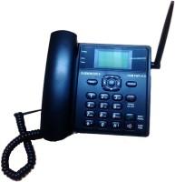 VisionTek 21G Gsm Fixed Wireless Telephone Cordless Landline Phone(Black)