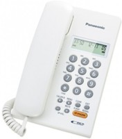 Panasonic kx-tsc62sxw Corded Landline Phone(White)