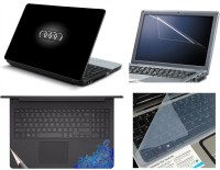 View Namo Arts Laptop Skins with Track Pad Skin, Screen Guard and Key Protector HQ1037 Combo Set(Multicolor) Laptop Accessories Price Online(Namo Arts)