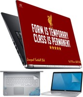 FineArts Class is Permanent 4 in 1 Laptop Skin Pack with Screen Guard, Key Protector and Palmrest Skin Combo Set(Multicolor)