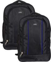 Vape 17 inch Expandable Laptop Backpack(Blue, Grey)