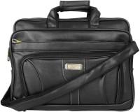 View Fancy 15.6 inch Expandable Laptop Messenger Bag(Black) Laptop Accessories Price Online(Fancy)
