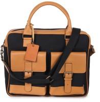 View Kaizu 17 inch Laptop Messenger Bag(Black, White) Laptop Accessories Price Online(Kaizu)