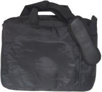 View Arow 14 inch Laptop Messenger Bag(Black) Laptop Accessories Price Online(Arow)