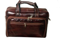 View Greenhide 14 inch Laptop Messenger Bag(Brown) Laptop Accessories Price Online(Greenhide)