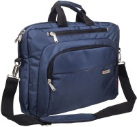 View Cosmus 15.6 inch Laptop Messenger Bag(Blue) Laptop Accessories Price Online(Cosmus)
