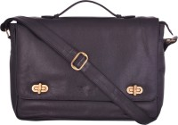 View e-STORES 15 inch Laptop Messenger Bag(Black) Laptop Accessories Price Online(e-STORES)