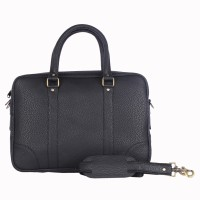 View Walletsnbags 15 inch Laptop Messenger Bag(Black) Laptop Accessories Price Online(Walletsnbags)