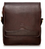 View The Clownfish 13 inch Laptop Messenger Bag(Brown) Laptop Accessories Price Online(The Clownfish)