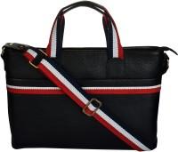 View e-Stores 15 inch Laptop Messenger Bag(Black) Laptop Accessories Price Online(e-STORES)