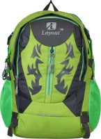 View Layout 15 inch Laptop Backpack(Green) Laptop Accessories Price Online(Layout)