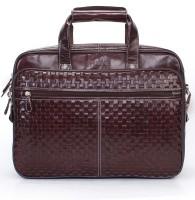 View Brune 15 inch Laptop Messenger Bag(Brown) Laptop Accessories Price Online(Brune)