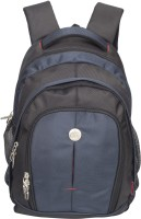 View Cosmus 17 inch Laptop Backpack(Black, Blue) Laptop Accessories Price Online(Cosmus)