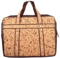 View Corkcraft 15 inch Laptop Messenger Bag(Brown) Laptop Accessories Price Online(Corkcraft)