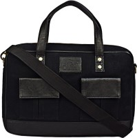 View Lugo 15 inch Laptop Messenger Bag(Black) Laptop Accessories Price Online(Lugo)