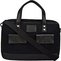 View Lugo 15 inch Laptop Messenger Bag(Black) Laptop Accessories Price Online(Lugo)