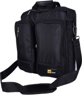 View Yark 15.6 inch Laptop Messenger Bag(Black) Laptop Accessories Price Online(Yark)