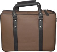 View Style 98 13 inch Expandable Laptop Backpack(Brown) Laptop Accessories Price Online(Style 98)