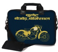 View The Backbencher 15.6 inch Laptop Messenger Bag(Multicolor) Laptop Accessories Price Online(The Backbencher)