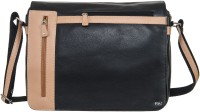 View Goodwill Leather Art 14 inch Expandable Laptop Messenger Bag(Black) Laptop Accessories Price Online(Goodwill Leather Art)