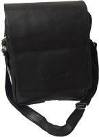 View Da Tasche 15 inch, 14 inch, 13 inch, 12 inch, 11 inch, 10 inch Laptop Messenger Bag(Black) Laptop Accessories Price Online(Da Tasche)