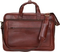 View American-Elm 17 inch Expandable Laptop Backpack(Brown) Laptop Accessories Price Online(American-Elm)