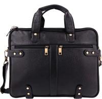 View ZINT 14 inch Laptop Messenger Bag(Black) Laptop Accessories Price Online(ZINT)
