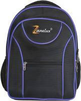 Zanelux 18 inch Laptop Backpack(Black, Blue)