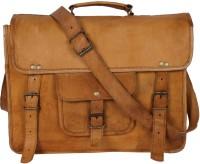 View Gaurav 14 inch Laptop Case(Brown) Laptop Accessories Price Online(Gaurav)