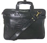 View LeWIS 16 inch Expandable Laptop Messenger Bag(Black) Laptop Accessories Price Online(LeWIS)