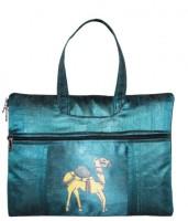 View Indha Craft 13 inch Laptop Messenger Bag(Blue) Laptop Accessories Price Online(Indha Craft)