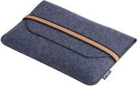View Gizga Essentials 14 inch Sleeve/Slip Case(Grey) Laptop Accessories Price Online(Gizga Essentials)