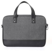 View D'clair 13 inch Laptop Messenger Bag(Grey) Laptop Accessories Price Online(D'clair)