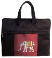 View Indha Craft 12 inch Laptop Messenger Bag(Black) Laptop Accessories Price Online(Indha Craft)