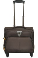 View Sprint 15 inch Trolley Laptop Strolley Bag(Brown) Laptop Accessories Price Online(Sprint)