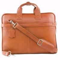 View LeWIS 16 inch Expandable Laptop Messenger Bag(Tan) Laptop Accessories Price Online(LeWIS)