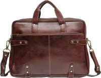 View Amigo 15 inch Laptop Messenger Bag(Brown) Laptop Accessories Price Online(Amigo)
