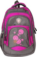 View DFG 18 inch Expandable Laptop Backpack(Pink, Grey) Laptop Accessories Price Online(DFG)