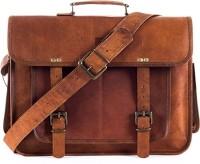 View Goatter 15 inch Laptop Messenger Bag(Brown) Laptop Accessories Price Online(Goatter)