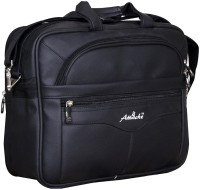 View Attache 15.6 inch Laptop Messenger Bag(Black) Laptop Accessories Price Online(Attache)
