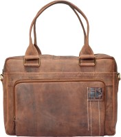 Hidestitch 14 inch Laptop Messenger Bag(Brown)