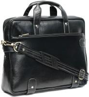 View WildHorn 14 inch Laptop Messenger Bag(Black) Laptop Accessories Price Online(WildHorn)