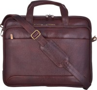View e-STORES 15.6 inch Laptop Messenger Bag(Brown) Laptop Accessories Price Online(e-STORES)