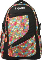 View Layout 16 inch Laptop Backpack(Multicolor) Laptop Accessories Price Online(Layout)