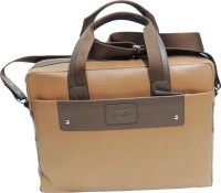 View Mex 14 inch Laptop Messenger Bag(Tan) Laptop Accessories Price Online(Mex)