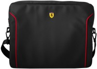 Ferrari 13 inch Laptop Messenger Bag(Black)