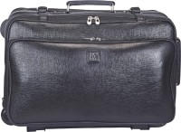 Adamis 18 inch Trolley Laptop Strolley Bag(Black)