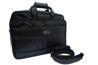 View KLARK 16 inch Laptop Messenger Bag(Black) Laptop Accessories Price Online(KLARK)